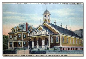 The first Polish Parish in the Boston Area - 1893